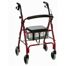 rollator-essential-featherlight-red 1